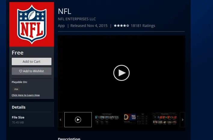 Live Stream NFL