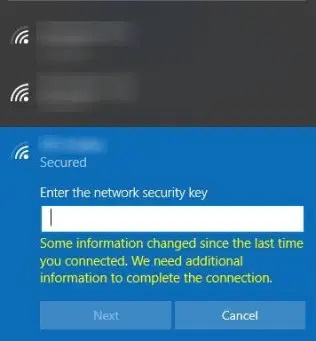 Change WiFi Password on Windows