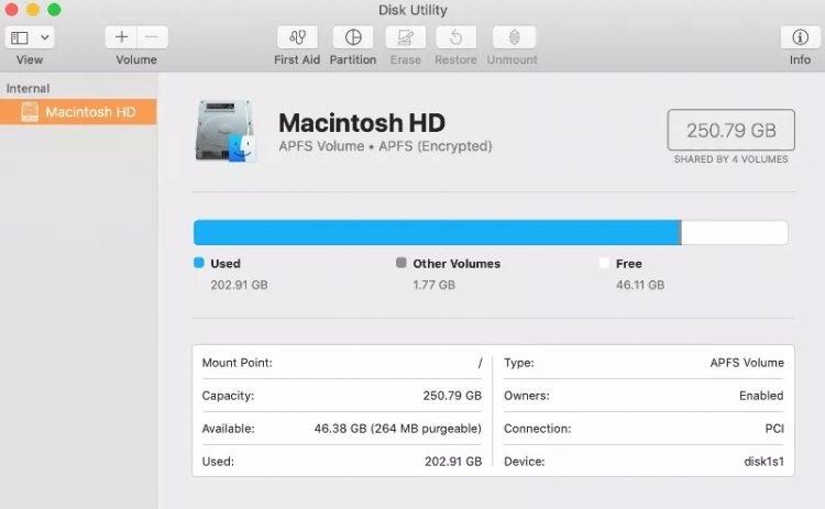 Boot a MAC in Safe Mode