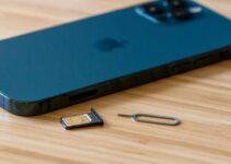 Open SIM Card Slot on iPhone