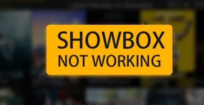 Showbox Not Working Error