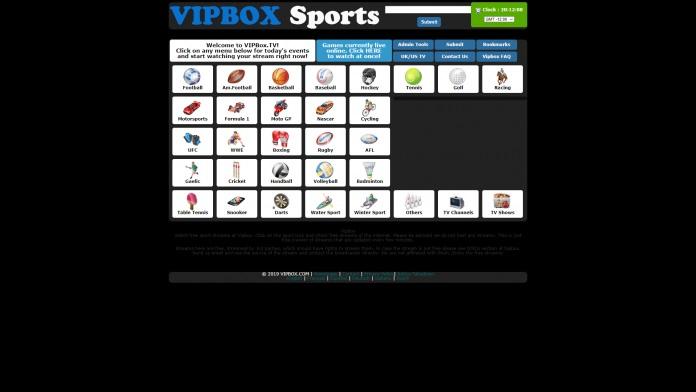 VIP Box Sports